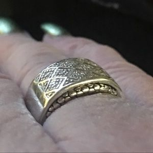 💎 Michael Dawkins 1/10 ct wt Diamond Ring
